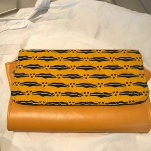 Handbags - NEW African inspired Clutch Mustard Yellow